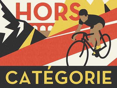 Hors Catégorie cycling sports retro