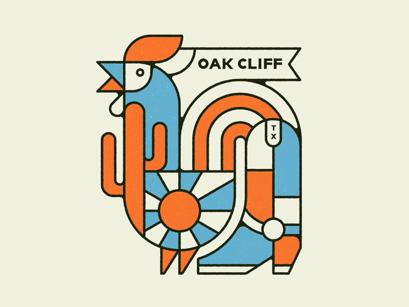 Oak Cliff Rooster Boot