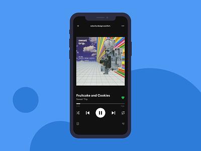 Spotify Music Recommendation album artwork framer framer x prototype music app music spotify ui design uiux ui