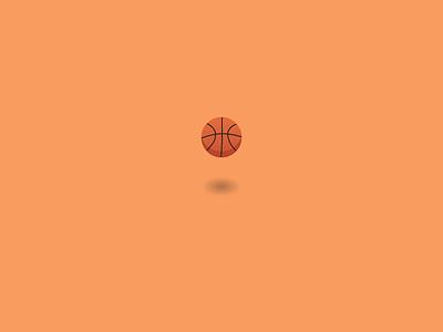 Loading Sequence nba basketball bouncing ball ui
