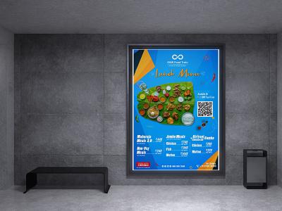 Restaurant  Menu wall panit creative menu menu creative poster ux illustration vector logo motion graphics graphic design 3d animation ui designer ai ps lb ai designer branding brand ai designer design