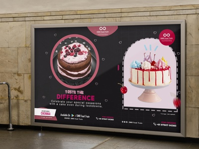Cake Poster creative caritive icon poster cake ux ui illustration logo vector designer ai ps lb ai designer branding brand ai designer design