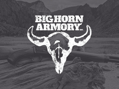 Big Horn Armory Branding branding logo