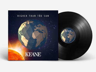 Keane Higher Than the Sun EP design