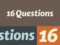 Questions - Finalising
