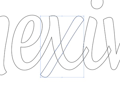 Vector clean up wordmark typography work in progress vector custom lettering logotype