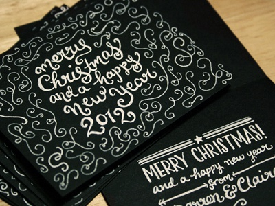 Card typography lettering custom type hand lettering hand drawn card swashes print design christmas holidays