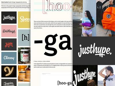 New portfolio udpate identity branding process layout custom type wordmark logo logotype typography lettering portfolio