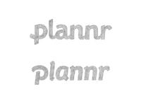 Plannr original sketches