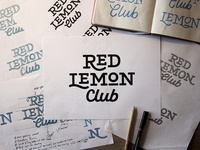 Red Lemon Club logotype