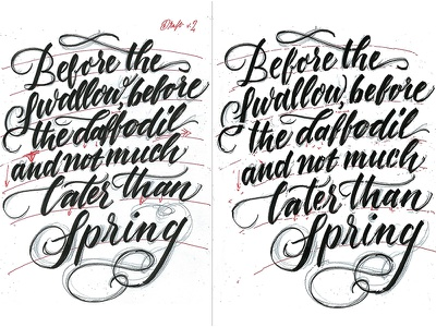 Lettering quote rough brush lettering cursive swashes script work in progress sketch progress rough draft custom typography typography quote lettering