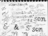 Wilson sketchbook