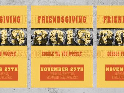 Friendsgiving: Gobble Gobble
