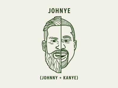 Johnye ( Johnny + Kanye)