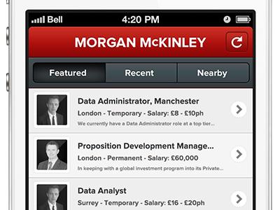 Recruitment App Assets