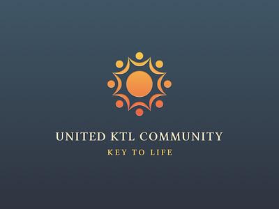 United KTL Community, Key to life key identity brand branding logo web forum community ktl united