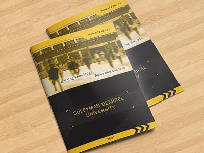 SDU Brochure best slogan brochures colorful print printdesign univer university press sdu design brochure
