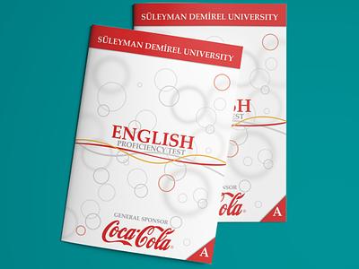 Coca-Cola English Proficiency Test SDU cocacola university awesome design print poster flyer brochure exam test proficiency english