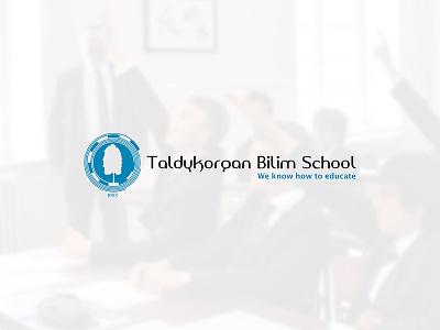 Taldykorgan KTL taldykorgan ktl bilim innovation school blue design branding brand logo identity katev
