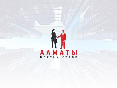 Almaty Dostyk Stroi 2 home house apple logo identity brand company construction stroi dostyk almaty