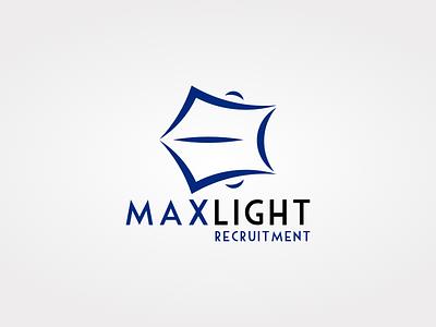 Maxlight Recruitment 2 case logo identity brand light max hiring job recruitment maxlight