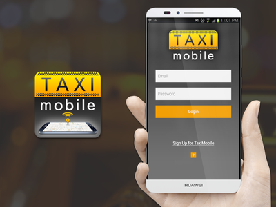 Taxi Mobile offer order ui ux design driver mobile taxi app android