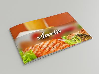 Appetite Marketing Kit design cafe restaurant directory brochure app delivery drink food appetite