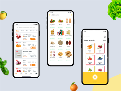 Instacart-grocery delivery App onlineapp supermarket groceryapp appmaker coding appdeveloper appdesign uxuidesign application