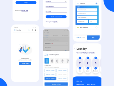 On Demand Laundry services App Solution _ For Laundry Profession applikewashio onlineapp ondemand washing dryclean clothservices laundry mobileapp application appmaker appdeveloper uxuidesign