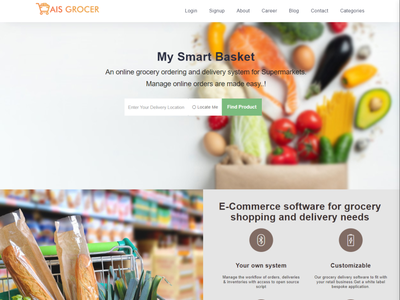 Online Grocery Shopping App Development uxuidesign appdesign dailyneeds onlinedelivery appplatform groceryservices groceryapp onlinegrocery onlineshopping appdevelopment mobileapp