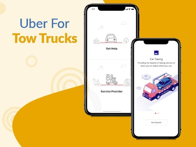 Uber for Trucks & Tow Trucks mobileapps application appclones uberapps appservices ondemand towtruck uberlikeapps uiuxinterface uidesign appdesign androidapp
