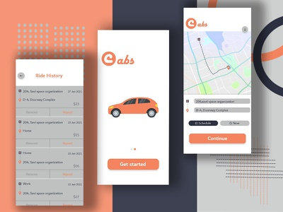 New Cab Booking App Concept uber clone app ui design applications taxi booking cab booking ola androidapp uber uber clone uidesign ondemand application appdeveloper uxuidesign appdesign mobileapp