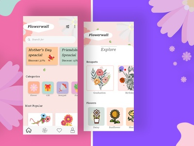 Flower Delivery Concept 2021 delivery app photoshop flower delivery app flower design flowerapp application design app clone flower delivery flower delivery uae flowers onlineapp appmaker androidapp uidesign ondemand application appdeveloper uxuidesign appdesign mobileapp