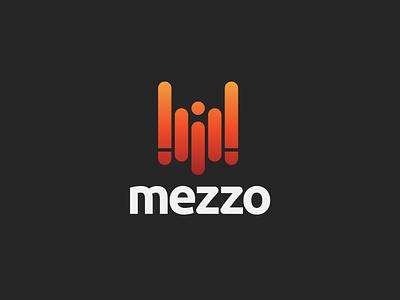 Mezzo - Streaming Music Startup pr. logo icon designer design dailylogochallenge dailylogo concept challenge branding