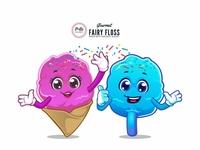 Fluffy Candy Mascot