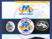 Infinity Media Logo Design