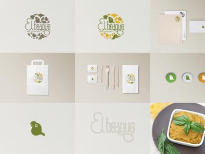 """El Bosque"" Restaurant/Logo"