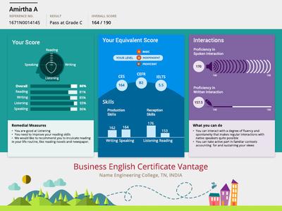 Business English Certificate Vantage- Data Visualization
