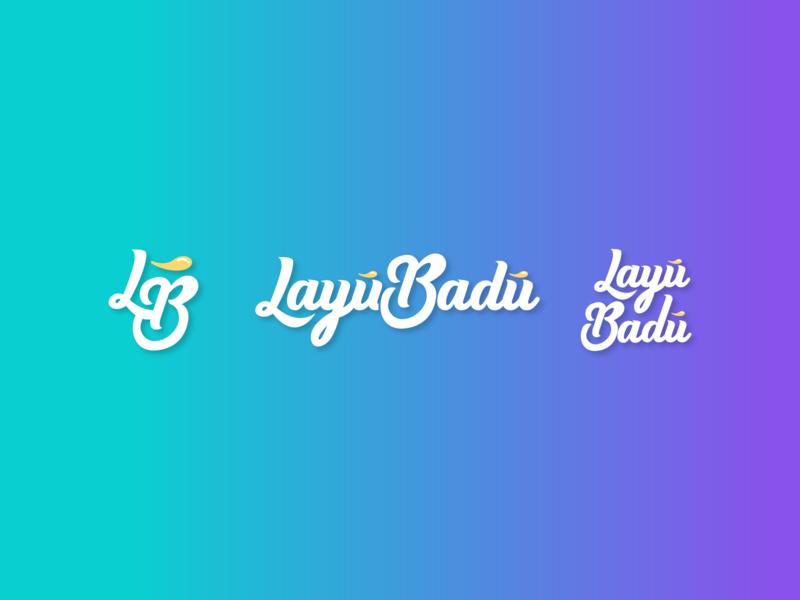 Layú Badú Candy Store monogram store brand agency logotype candy bar candy sweets illustrator minimal flat vector typography branding logo design