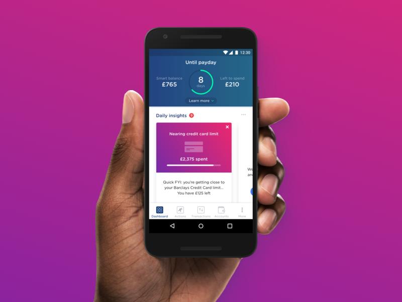 Yolt - Unthink Money app cards finance dashboard fintech yolt