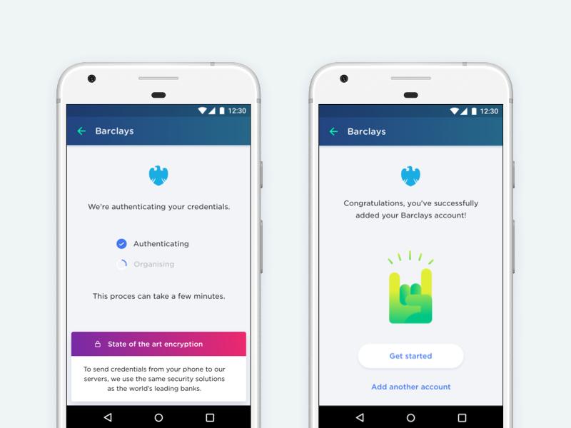 Yolt - Add a bank illustration yolt money fintech finance app