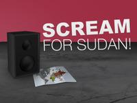 Scream for Sudan