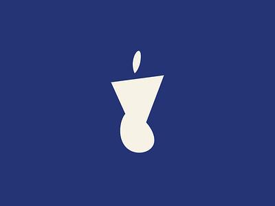Undone Logo Concept simple design simple logo design flat branding logo design branding logo designer logo mark body logo body icon shape blue visual identity graphic design logo icon icon logo design logo