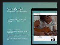 Chrome - A simpler way to browse the web