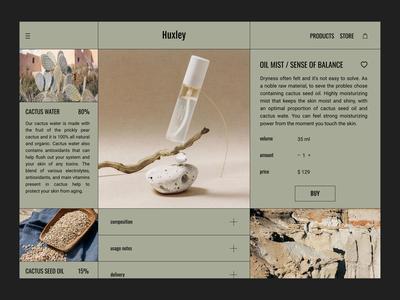 Organic cosmetic 🌿 cosmetic organic branding app e-shop ui ux webdesign design
