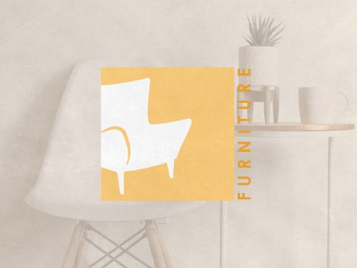 Furniture furniture visual identity vector logodesigner logodesign logo illustration graphicdesigner freelancer design branding brandidentity