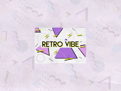 Retro Vibe vintage retro visual identity vector logodesigner logodesign logo illustration graphicdesigner freelancer design branding brandidentity