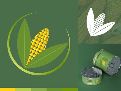 Corn visual identity vector logodesigner logodesign logo illustration graphicdesigner freelancer design branding brandidentity