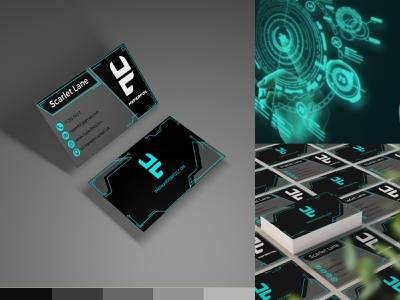 Hyperfoil Business card stationery business card design business cards visual identity graphicdesigner freelancer design brandidentity
