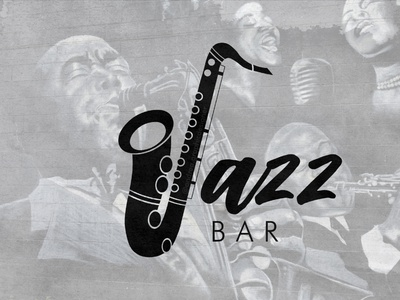 Jazz bar vintage vintage logo bar logo cafe logo jazz logo cafe coffee bar jazz logodesign logo branding logodesigner brandidentity vector illustration graphicdesigner freelancer design